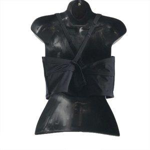 torrid Swim - Torrid Bikini Top Laser Cut Black Turquoise Size 1